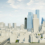 3D Model of London - Future Skyline