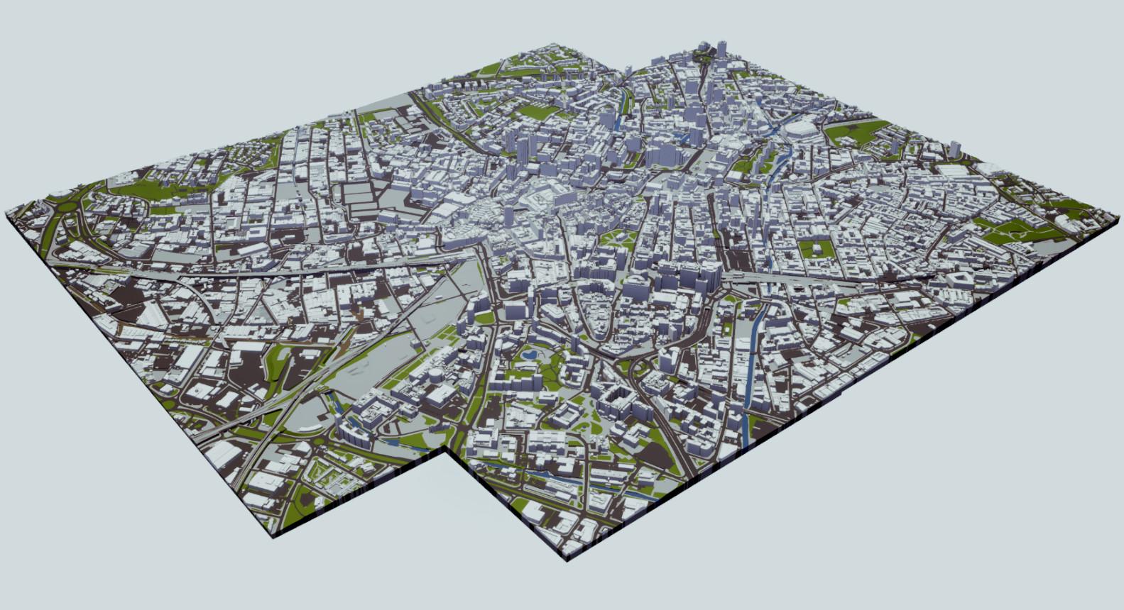 3D Model of Birmingham