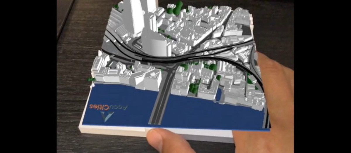 3D city model augmented using FME