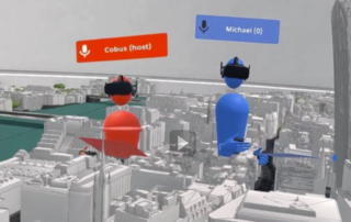 3D Model of London in Virtual Reality