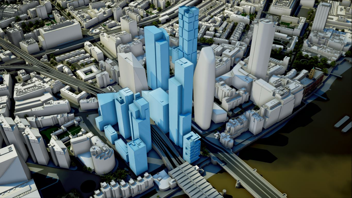 3D Model of London & 3D City Models | AccuCities