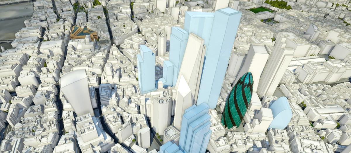 London Skyline with Future Landmark Developments | AccuCities