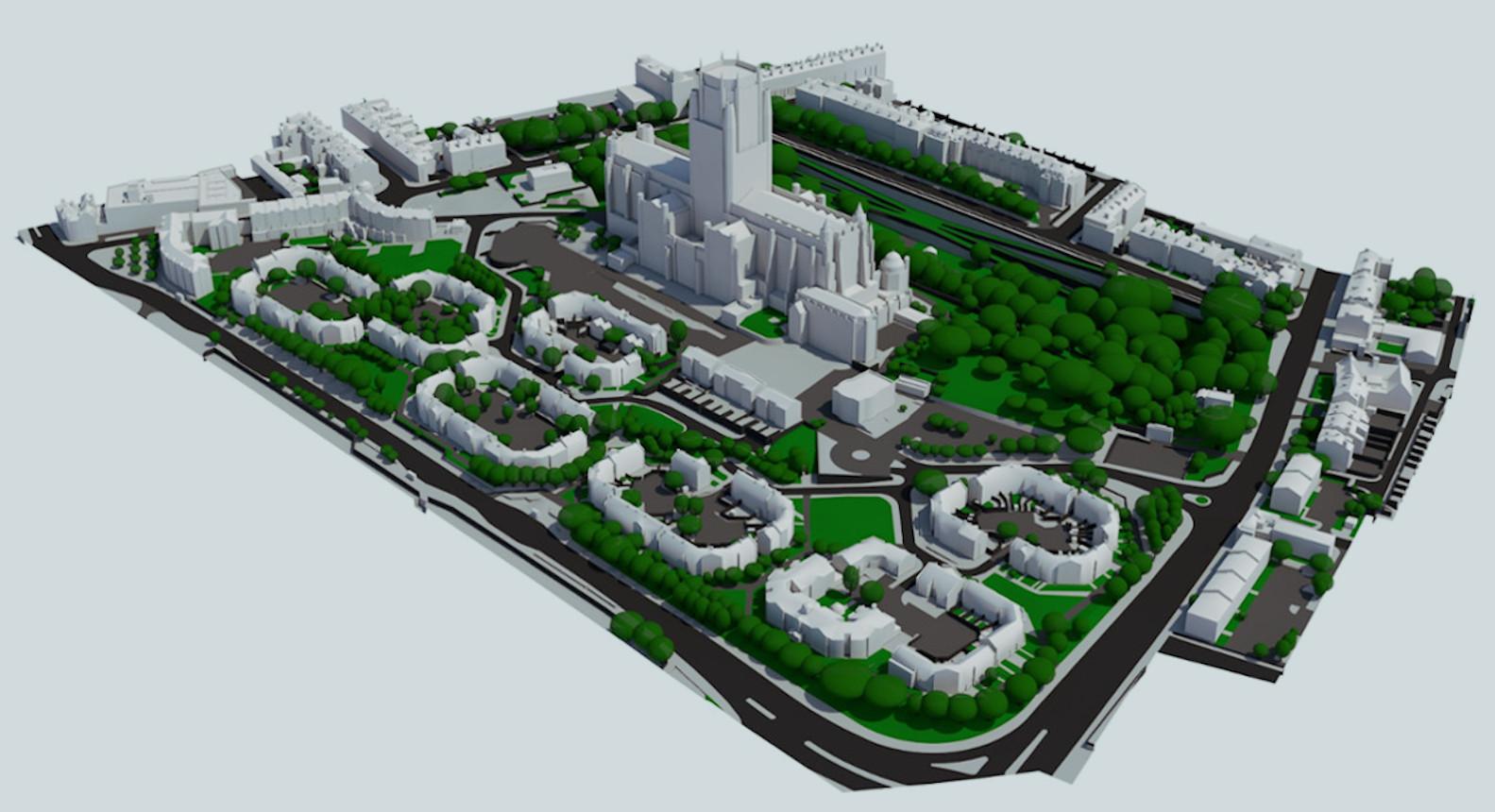 3D Liverpool - Custom 3D model example