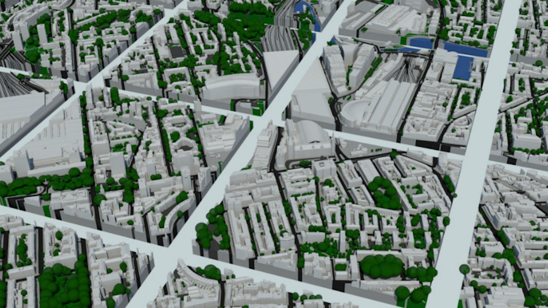 Compare 3D Models of London