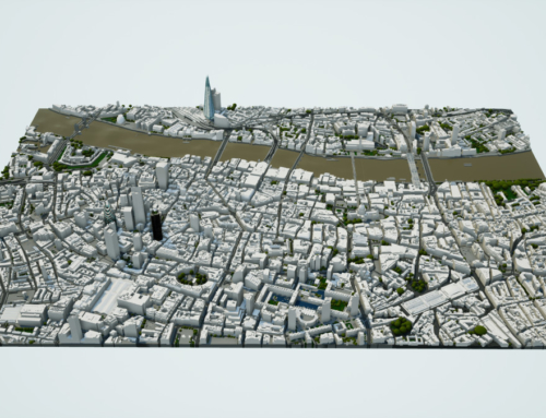 6 km² 3D Model of Central London
