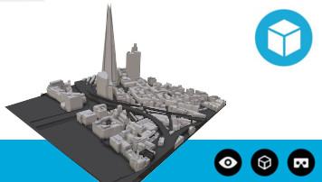 3D Model of London Interactive Sample Base Model