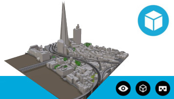 3D Model of London Interactive Sample Level 3
