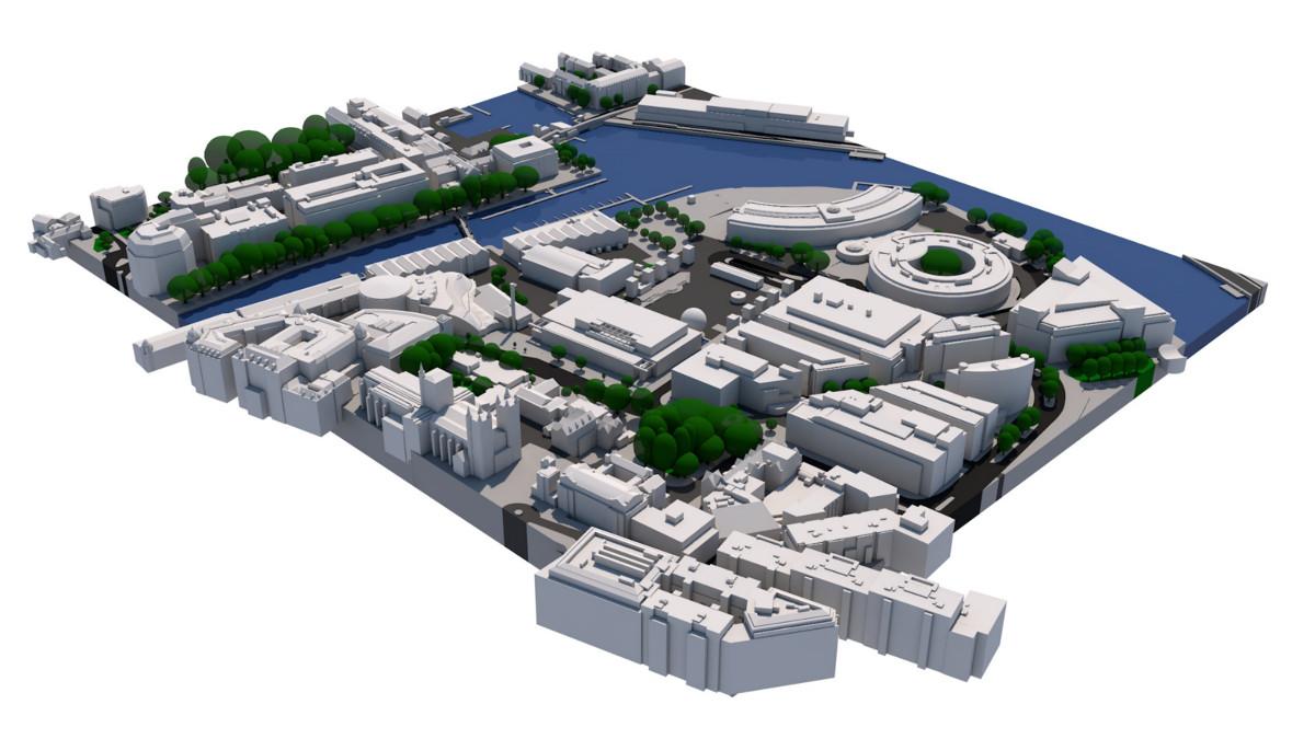 Planing 3D Model Bristol